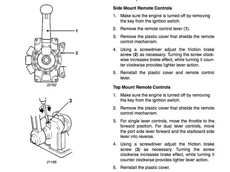 boat throttle control box diagram throttle control problem the hull truth boating and