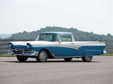 1957 ford ranchero custom 300 sedan cars classic
