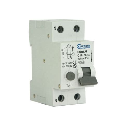 The Types Of Products Purchase Using Only An Search Are Typically Europa Eublm40c30a 40 Type C 6ka Pole Rcbo Type A Rcd Dc Sensitive At Uk