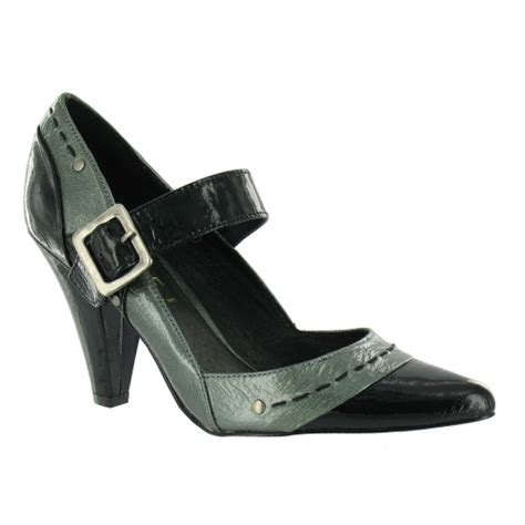 ravel ravel bea womens leather court shoes black