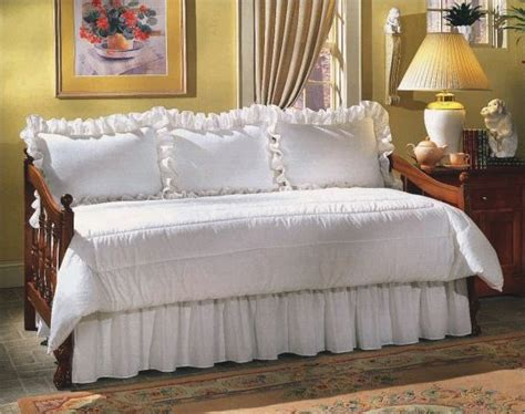 coverlets for daybeds cream eyelet daybed set at the trendy bed