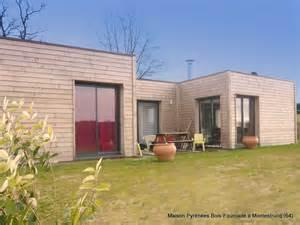 maison bois toit terrasse pyr 233 n 233 es bois maisons