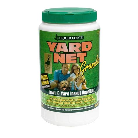 backyard fly repellent liquid fence yard net 2 lb insect repellent granules hg