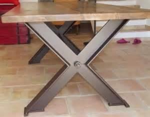 pieds de table en fer atelier and tables on