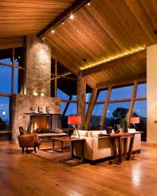 Mountain Home Interiors luxury residential interior photography great room