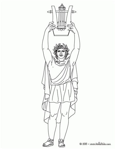poseidon coloring page coloring home