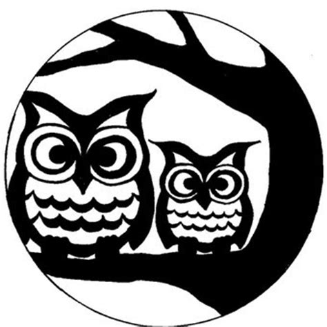 printable owl pumpkin patterns owl stencil all about owl