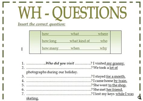 pattern of wh questions all worksheets 187 wh questions worksheets free printable