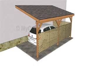 Attached Carports attached carports 16 x 20 attached carport plans designs wooden home