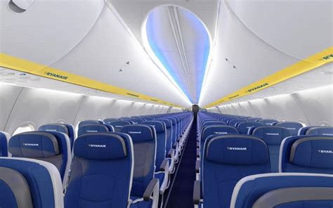 ryanair cabin ryanair reveals its new plane interiors and there s a