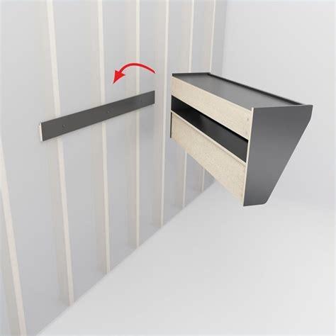 Entryway Rack Shelf by Floating Entryway Shelf And Coat Rack In Espresso Eucw