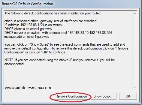 Router Untuk Warnet Setting Router Mikrotik Rb750 Untuk Warnet Default