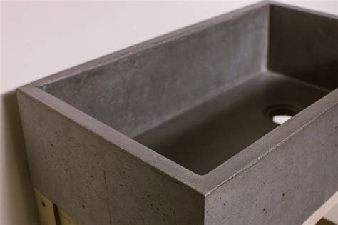 diy concrete kitchen sink farmhouse kitchen sink concrete wave design concrete