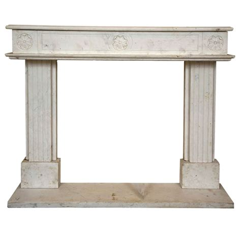 Italian Marble Fireplaces by Italian Marble Fireplace Surround At 1stdibs