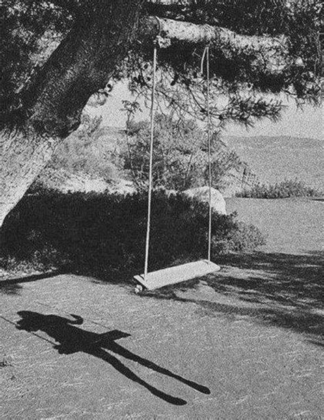 looking for a cousin on a swing scary black and white creepy child horror my posts dead