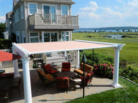 pergola awning pergola awnings retractable long island m m awnings