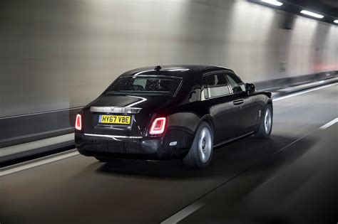 rolls royce phantom rear 2018 rolls royce phantom first drive review automobile