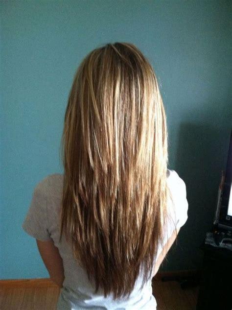 choppy hair cut side view long hair choppy layers hair pinterest 2017 makeup n