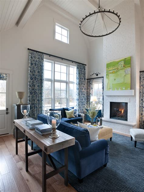 2014 hgtv smart home great room the large soaring ceilings outfitted in white beadboard paired with