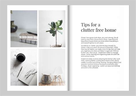 rules for magazine layout and design design a magazine like kinfolk free template magazine
