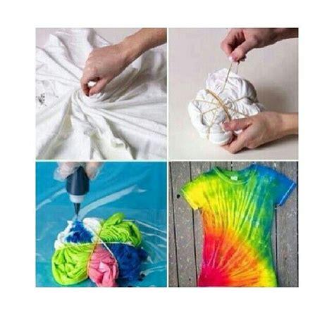 diy tie dye diy tye dye t shirt craft ideas