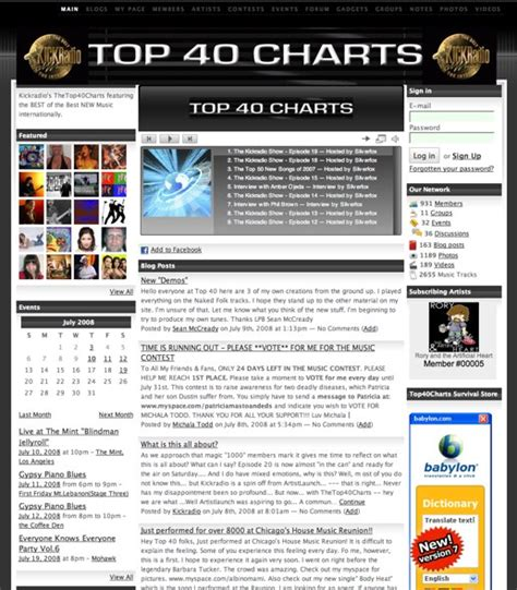 best songs charts listen to the hits at top 40 charts ning