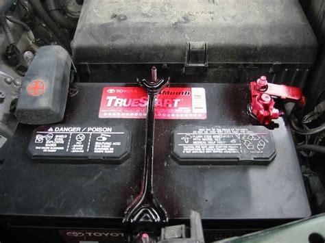 Toyota Tacoma Battery Size Battery Terminal Corrosion Toyota Tundra Forum