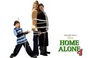 home alone 4 e tv