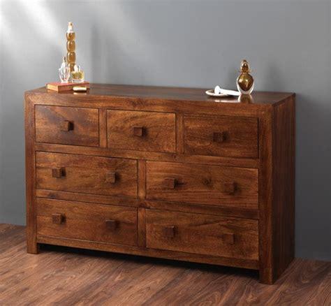 Mango Wood Dresser by Solid Mango Wood Dresser With Drawers Casa
