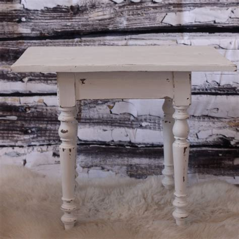 Table Basse Shabby by Table Basse Patine Blanc Shabby Chic Aspect Vieilli
