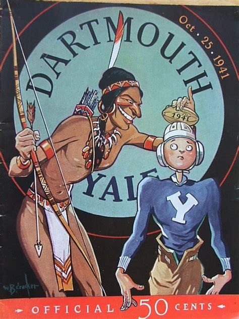 Mba Dartmouth Vs Yale by 1941 Football Program Between Dartmouth V Yale On 10 25 41