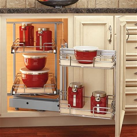 rev a shelf blind corner cabinet pull out blind corner pullout with maple shelves woodworker s