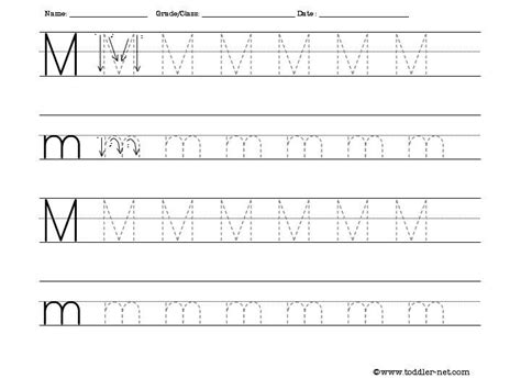 blank tracing worksheets printable tracing letter m letter m pinterest tracing letters