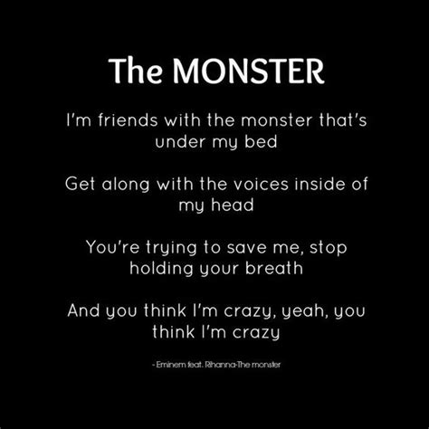 eminem caign speech lyrics quot the monster quot eminem feat rihanna lyrics lyrical
