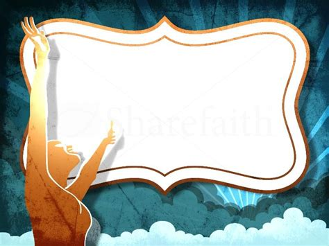 Worthy Of Worship To Clipart Clipart Suggest Worship Ppt Template