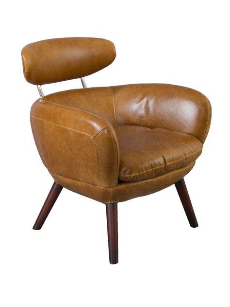 wohnideen design 4168 designsessel swinford vintage leder columbia brown