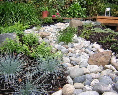 River Rock Siding Home Design Ideas Pictures Remodel And River Rock Garden Ideas