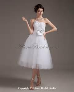 knee lenght wedding dresses wedding bells dresses