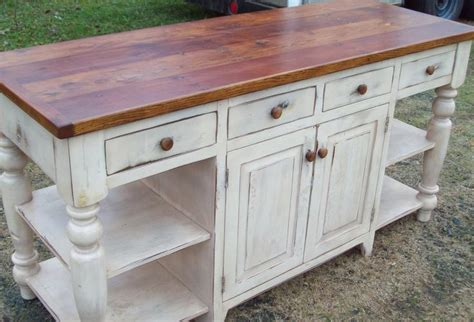distressed kitchen islands large handmade kitchen island distressed white antique
