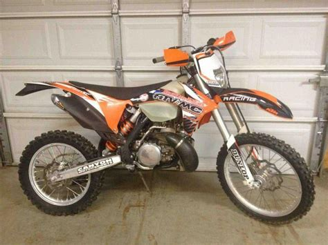 road legal motocross bike 2011 ktm 250xc pa titled street legal off for sale on