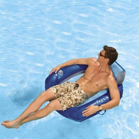 Floating Pool Chair by Kelsyus Floating Chair Lounger Pool Chair Water Lilo Hammock Ebay
