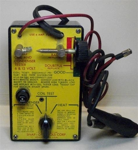 bench test ignition coil image gallery ignition coil tester