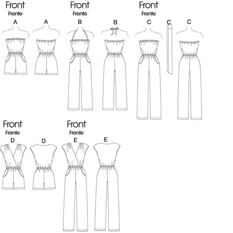 jumpsuit pattern free downloadable mccall s 6083 misses jumpsuit in 3 lengths and sash