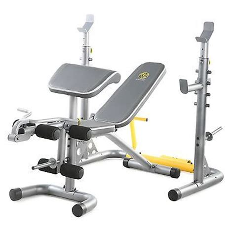 golds gym bench and squat rack golds gym equipment 6 roll leg developer squat rack weight