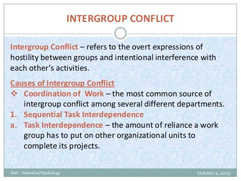 Explain The Different Sources Of Mba by Intergroup Conflict The Structure Of Organizations