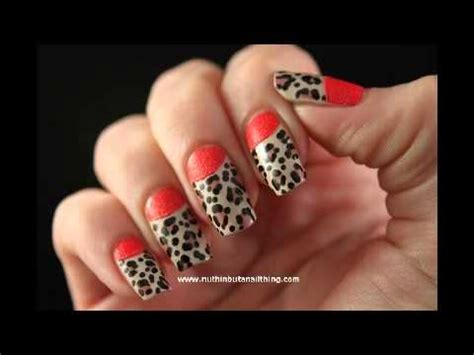 imagenes de uñas animal print 2014 imagenes u 241 as animal print de leopardo 2014 youtube