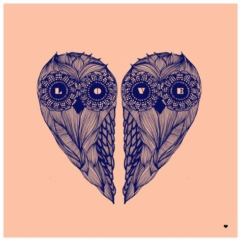 owl tattoo in heart cool owl heart tattoo inspiration tattoos love mom ink
