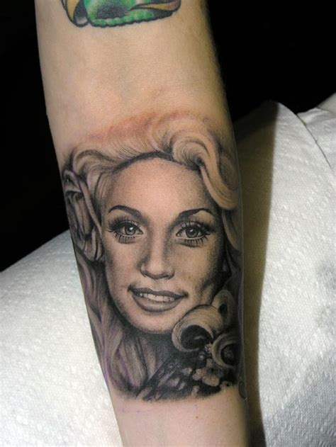 dolly parton tattoo dolly parton by d dolly