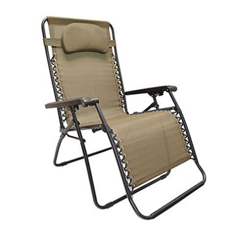 Caravan Oversized Zero Gravity Chair by Caravan 174 Sports Oversized Zero Gravity Chair Beige Sam