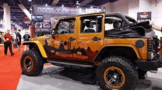 Jeep Jk Power Top Sema 2011 Rugged Ridge Jeep Wrangler Power Soft Top Photo
